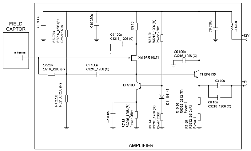 Active Antenna Schematic Diagram. Antenna Rotator Controller Diagram on