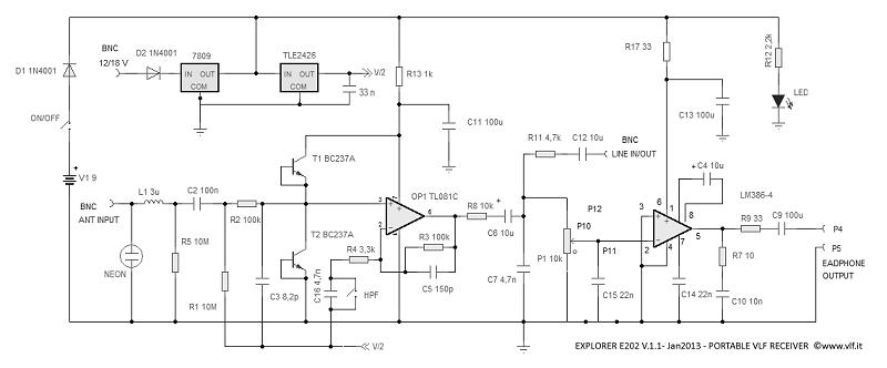 explorer e202 vlf portable receiver rh vlf it Lightning Strike Detector Lightning Detection Equipment