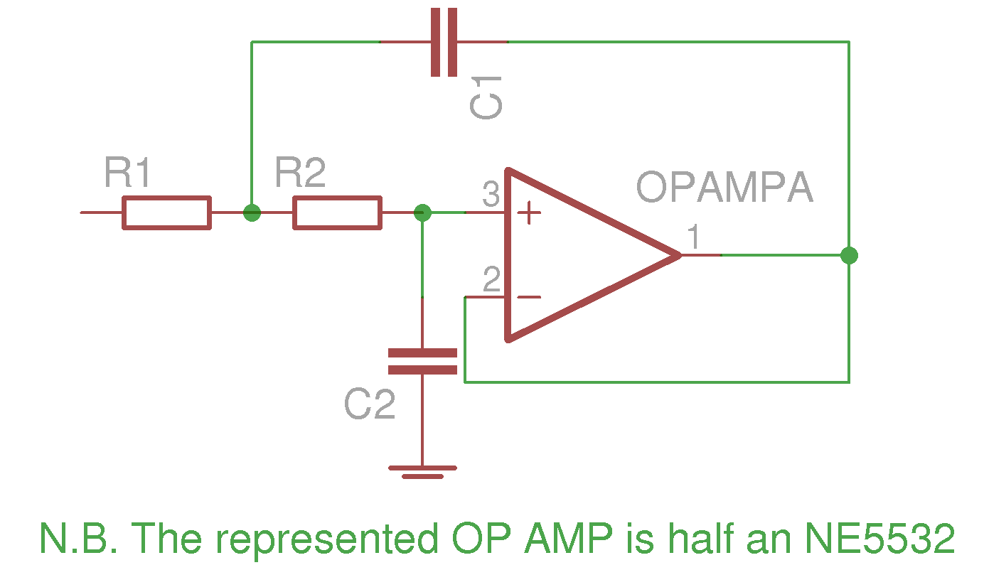 The Signal Conditioner Simple Band Stop Filter Circuit With Passive Components Is Shown
