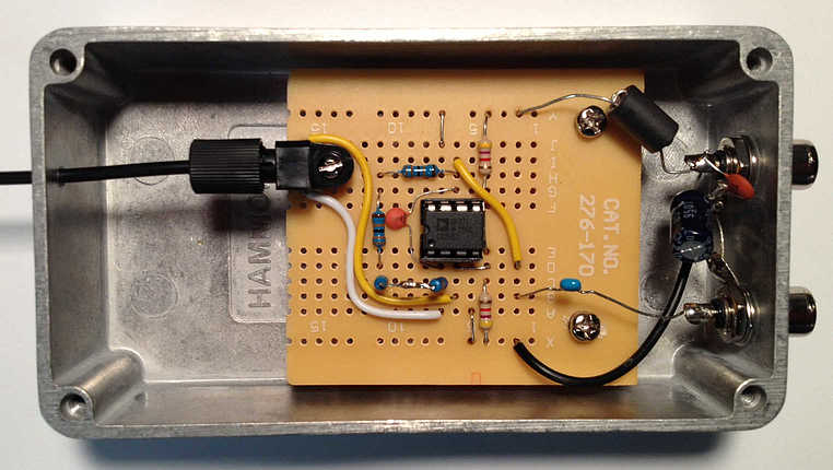 Experimental Fiber Optic Receiver How Circuits